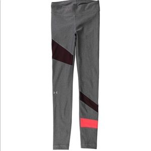 Under Armour Stripped Athletic pants/leggings- L